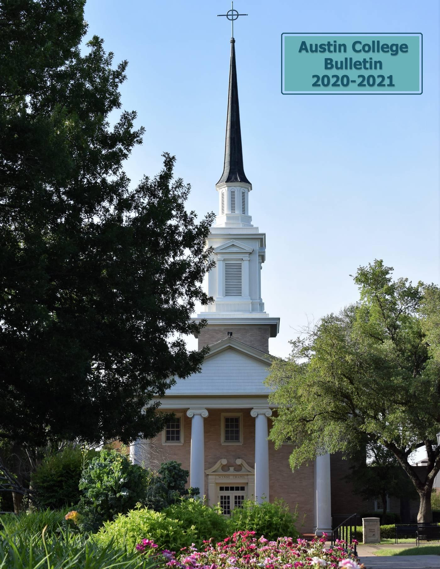 Austin College Bulletin 2020-2021
